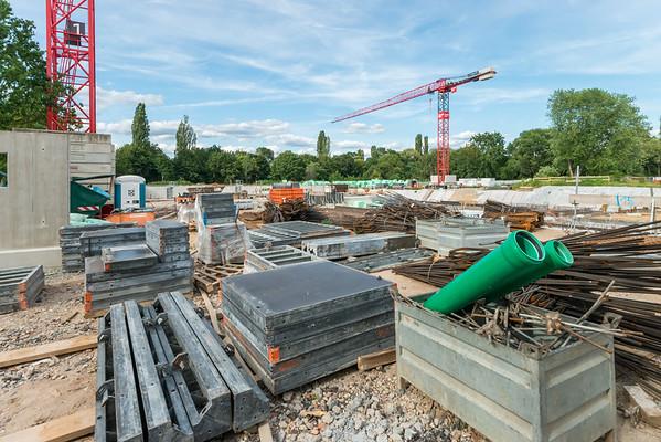 Baustelle Nordbad, 21. Juli 2019 (Foto: Christoph Rau)
