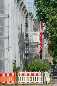 Baustelle Rhönring/Arheilgerstraße, 21. Juli 2019 (Foto: Christoph Rau)
