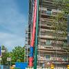 Bauverein-Häuser im Rhönring/Spessartring, Darmstadt, 22. April 2018  (Foto: Christoph Rau)