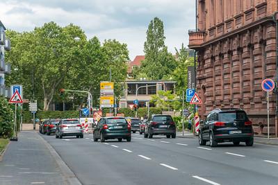 Baustelle Hügelstraße/Holzstraße, 19. Juli 2019 (Foto: Christoph Rau)