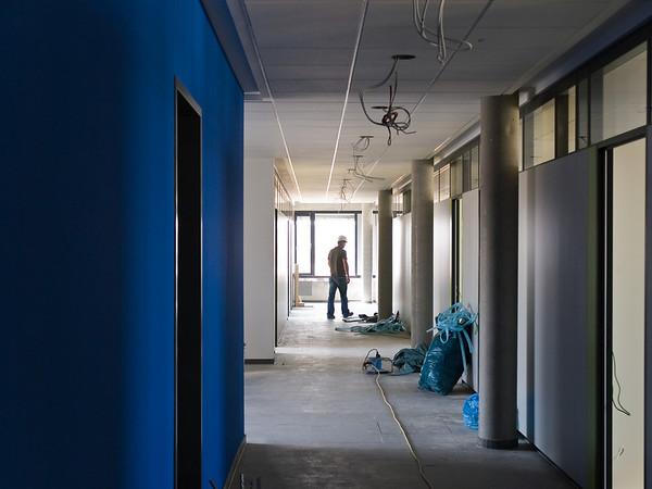 Baudokumentation EAD-Neubau im Sensfelder Weg 33, Stand am 5. Mai 2011