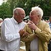 Günther Metzger (rechts, *23. Januar 1933 †18. August 2013)