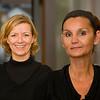 Kirsten Holletschek + Sabine Rohmeiss (Schlossgarten-Café - Schwarz-Weiß-Café)