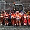 Baustelle der AGT Mainz für HEAG Mobilo am Willy-Brandt-Platz Darmstadt