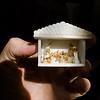 Miniatur-Weihnachtskrippe aus der Sammlung von Renate und Hans Jürgen Rau, Reinheim/Ueberau