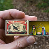 Miniatur-Weihnachtskrippe aus der Sammlung Rau, Reinheim/Ueberau