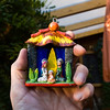 Miniatur-Weihnachtskrippe (aus Peru) aus der Sammlung von Renate und Hans Jürgen Rau, Reinheim/Ueberau