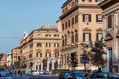Palazzo delle Finanze in Rome, Italy
