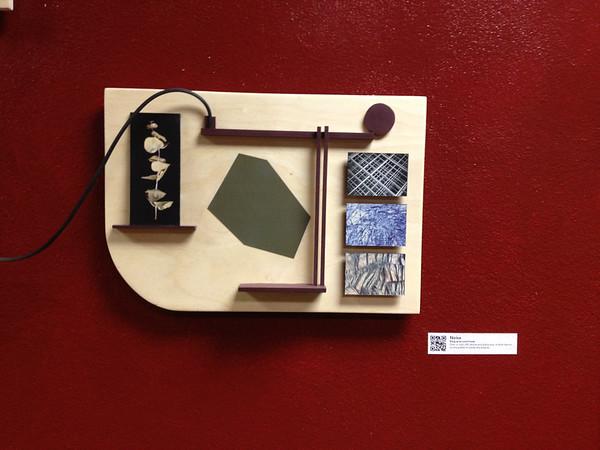 """""""Noise"""", wood panel"""