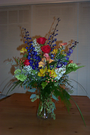 2002 - Flowers from David (Nov)