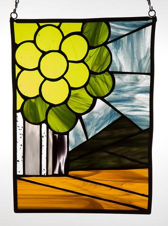 Sierra Aspens (backlit)