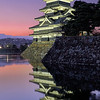 """Reflections in the Dusk"" – Matsumoto, Japan"