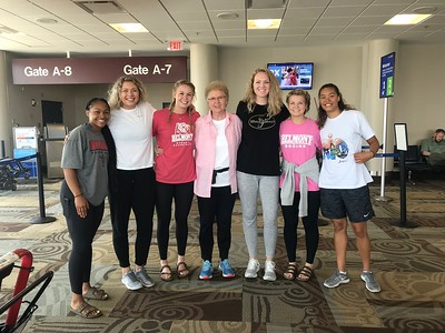 Belmont's Women Basketball team on a Mission Trip to Brazil.
