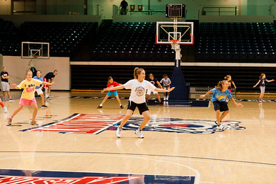 Girls Basketball Camp 2012