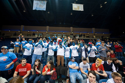 Womens Basketball vs ETSU Homecoming Game 2012