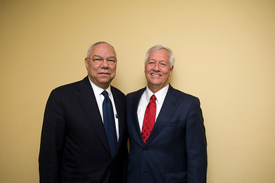 Colin Powell At Belmont 2012