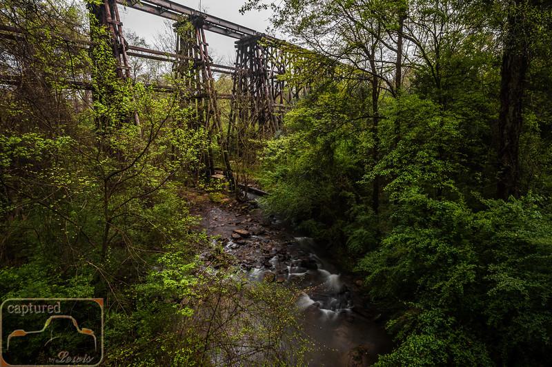 Athens Dudley Park Railroad Trestle 1