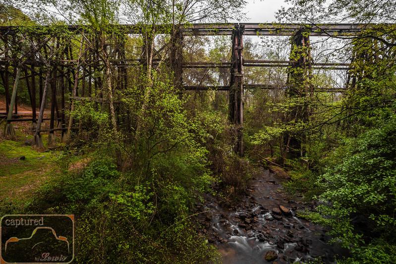 Athens Dudley Park Railroad Trestle 2