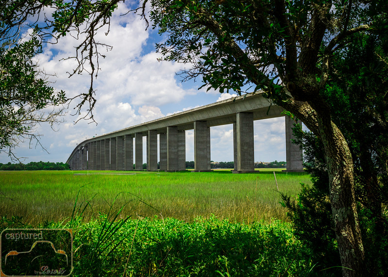 Edwards Bridge over the Wando marsh