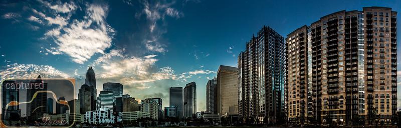 Charlotte Skyline Panoramic