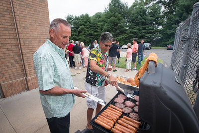 Saturday for the Milldale School Reunion at Engine Company 3 on Clark Street in Milldale Jul. 18, 2015   Justin Weekes / For the Record-Journal