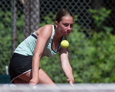 Julia Migliorini Sunday during the Wint Filipek Sr. Tennis Tournament held at Copper Valley Club in Cheshire Jun. 14, 2015 | Justin Weekes / For the Record-Journal