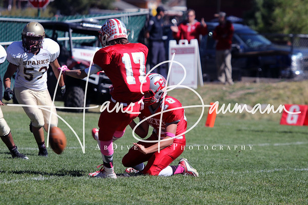 JV Football Sparks @ Truckee