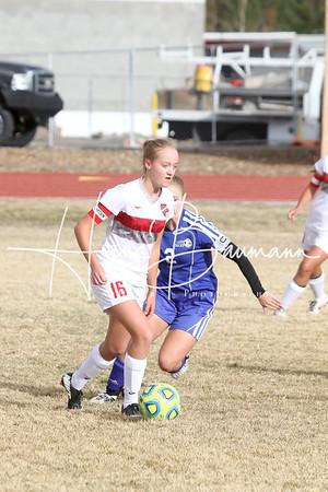 Soccer V Girls Lowry @ Truckee