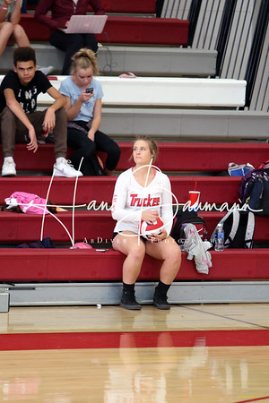 V Volleyball CCHS @ Truckee part 1
