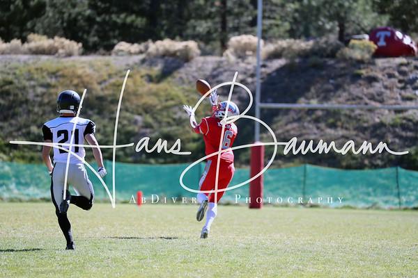 Football Spring Creek @ Truckee  V, JV