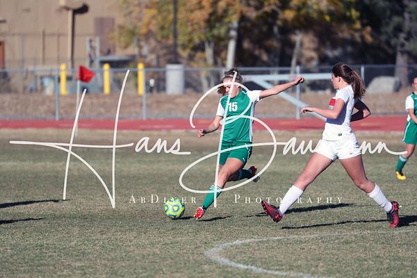 Soccer Girls CCHS @ Truckee Varsity