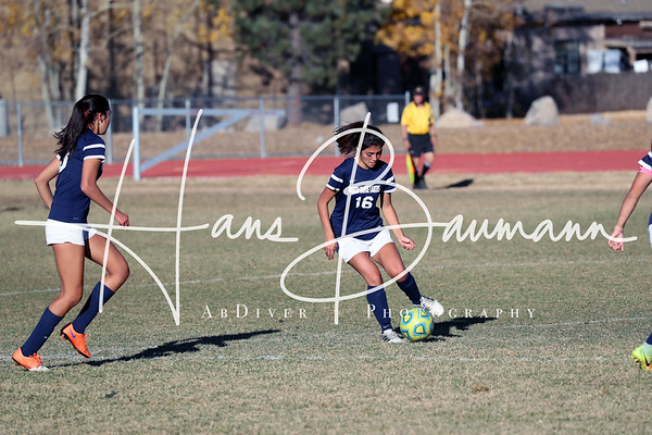 Soccer Girls North Tahoe @ Truckee JV and Varsity