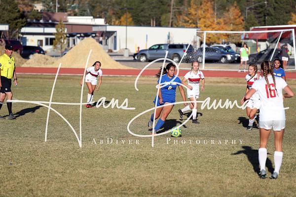 Soccer Girls South Tahoe @ Truckee Varsity