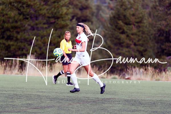Soccer V Girls Douglas @ Truckee