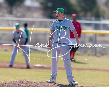 Baseball Churchill County @ Truckee JV and Varsity (Double Header) 30 March