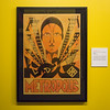 """A poster for Metropolis, 1927, on display in the """"It's Alive!"""" exhibit at the Peabody Essex Museum."""