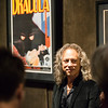 """Metallica guitarist Kirk Hammett speaks about the a poster for Dracula on display at the Peabody Essex Museum as part of the """"It's Alive!"""" exhibit."""