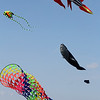 Lynn, Ma. 9-4-17. Many kites were in the air on Lynn Beach today. The wind was good and the weather was perfect.