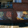 The mosaic mural at Heritage State Park.