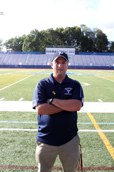 Peabody, Ma. 9-28-17. Bob Bua, is the AD at Peabody High School.