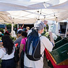 People took advantage of a gorgeous fall morning to come out and peruse the farmer's market at Central Square in Lynn on Thursday.
