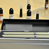 Electronic cigarettes and viles of e-liquid are seen at Eastern Vapor in Saugus on Tuesday. Item Photo / Matt Tempesta