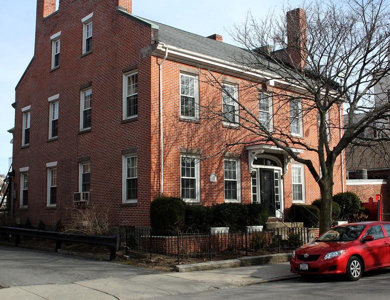 The office of Ed Hayden at 7 Franklin Street in Lynn. Photo by Owen O'Rourke
