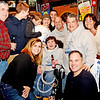 Lynn, Tony's Pub. Nick Capano and his friends and supporters who attended the fundraiser for the golf cart.