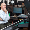 Craig Lawrence, Centerboard's executive producer of the radio station and music production director, works in the Centerboard recording studio on Tuesday, October 9. Item Photo / Angela Owens.
