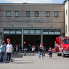 Attendees at the Saugus Fire Awareness day at Saugus Fire Headquarters on Saturday, Oct. 15, 2016. (Photo by Scott Eisen/The Item)