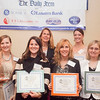 Nominees for the Businesswoman of the Year award for small business pose for a photo at the annual North of Boston Businesswomen of the Year awards at the Holiday Inn in Peabody on Wednesday, October 23. Item Photo / Angela Owens.