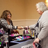 The marketplace at the annual North of Boston Businesswomen of the Year awards at the Holiday Inn in Peabody on Wednesday, October 23. Item Photo / Angela Owens.