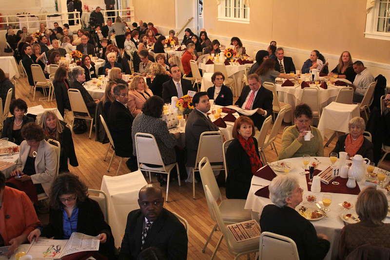 The 12th Annual Business Woman of the Year Awards were held at the Nahant Country Club on October 25. There were more than 50 nominees in five categories.  Photo by owen O'Rourke