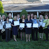 Nominees in the Civic Non Profit category at the 12th annual North of Boston Business Women of the Year Awards held at the Nahant Country Club on October 25. In photo are Lisa Connolly, Clarie Crane, Amy Croce, Amy Ann Dunn, Martha Farmer, Heather Hildebrand, Stacey Minchello, Tina Myers, Deborah Nathan, Pamela Casey O'Brien, Colleen Joyce O'Leary, Debra Panetta, Danielle Rossewey, Carla Saccone, Cassie Vitali, and Deborah Waters.